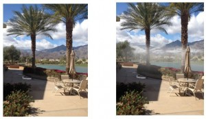 Including Misting Systems for Hot Weather