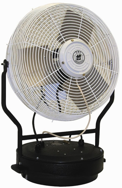 """18"""" Self contained power mister - Fan and Pump Lip only"""