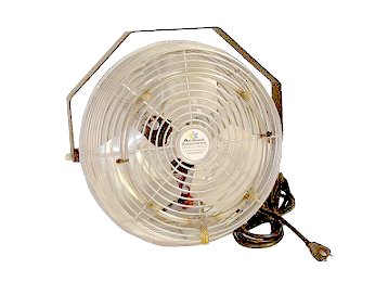 "Low Pressure Work Station misting Fans in 12"" 18"" and 24"", Click to see pricing."