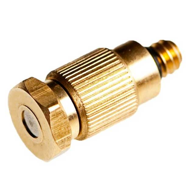 Brass, Hex, Anti-Drip, Cleanable Nozzle 10/24