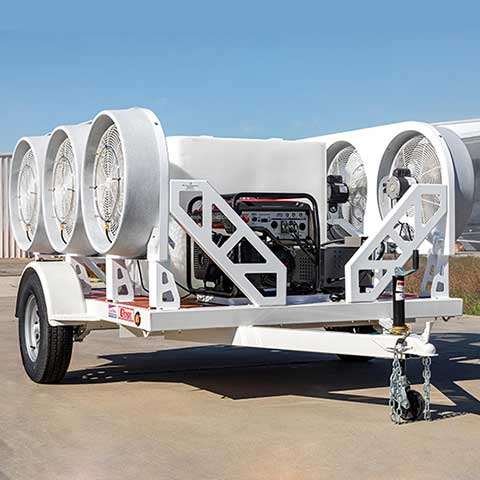 Mobile 6 Self-Contained Cooling Trailer