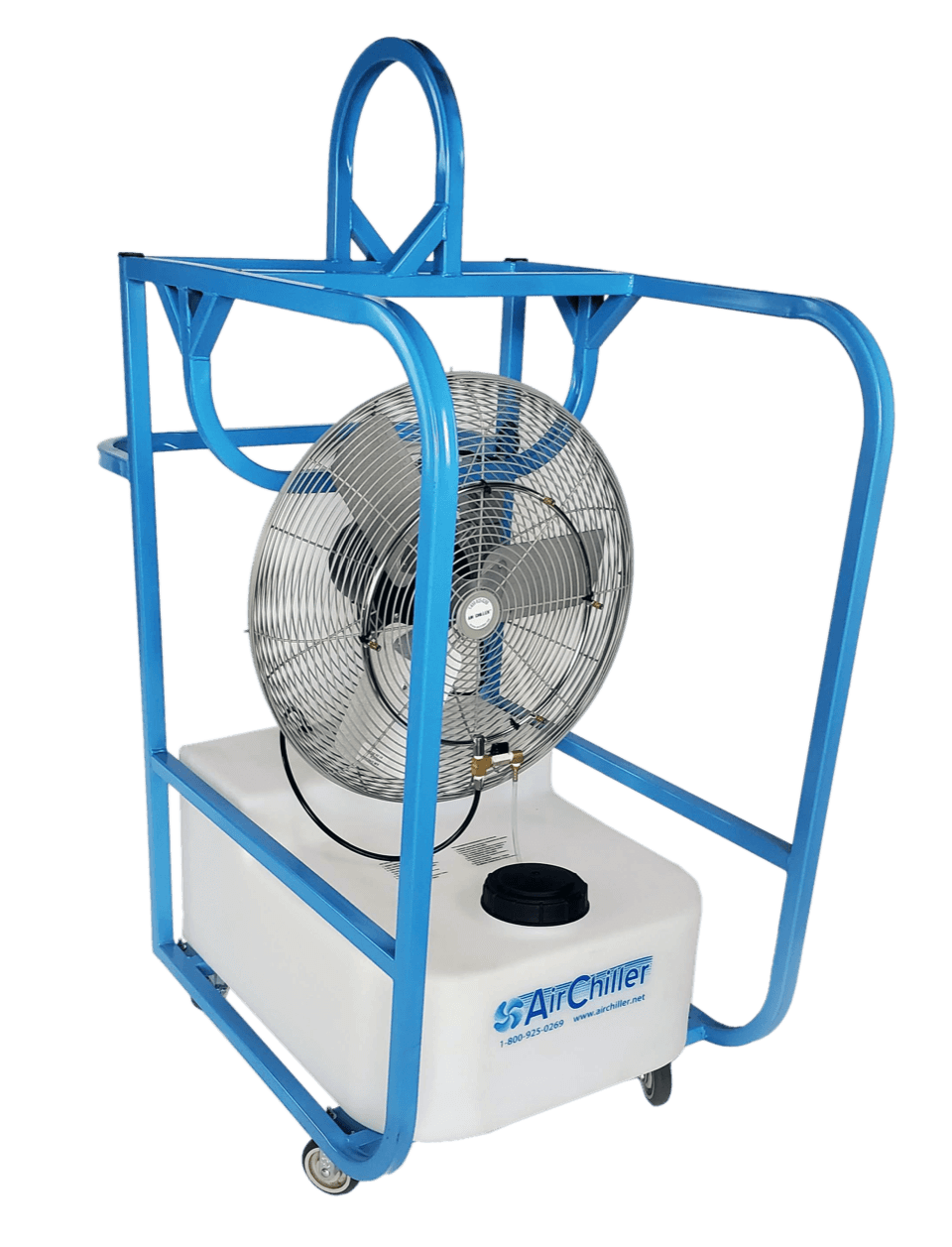 "Air Chiller Industrial Portable Misting Fan | Fan Sizes 24"", 30"" or two 24"""