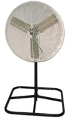 "36"" fan - 1/2 hp, 115 volt, 2-speed, oscillating"