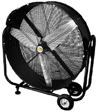 """36"""" & 42"""" Industrial 2-Speed Direct Drive Drum Fans"""