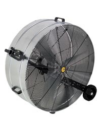 Galvanized Portable Drum Fans