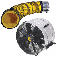 Fan and Duct Combo