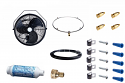 "18"" Wall/Ceiling mount misting fan KIT"
