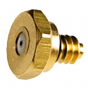 Brass Hex Style Nozzles 12/24