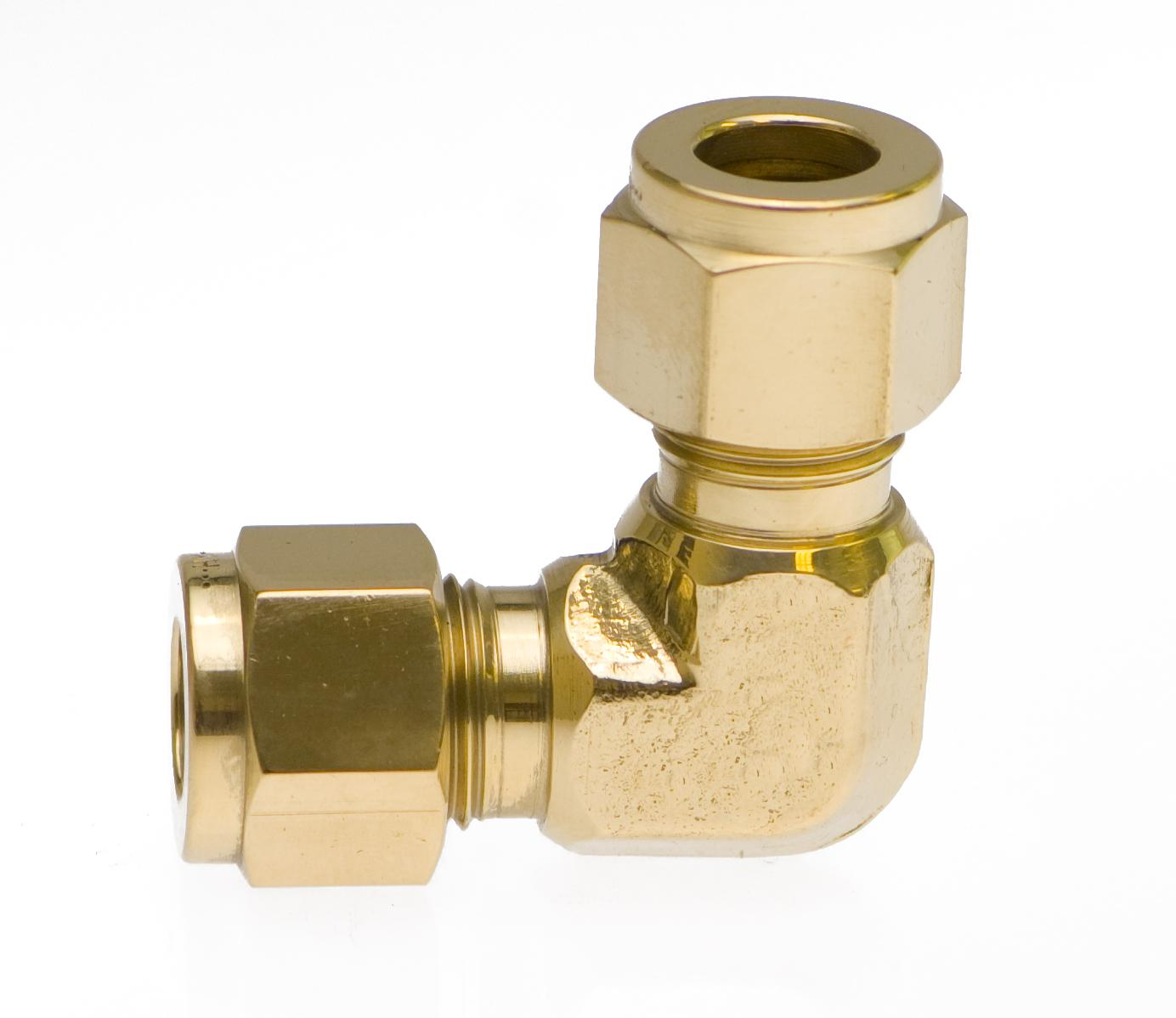 Heavy Duty Brass and Stainless Elbows