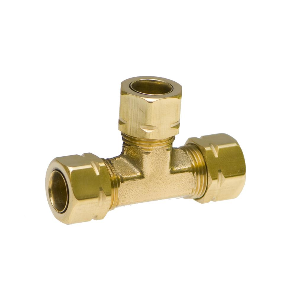 "Medium Duty 3/8"" Brass Tee"
