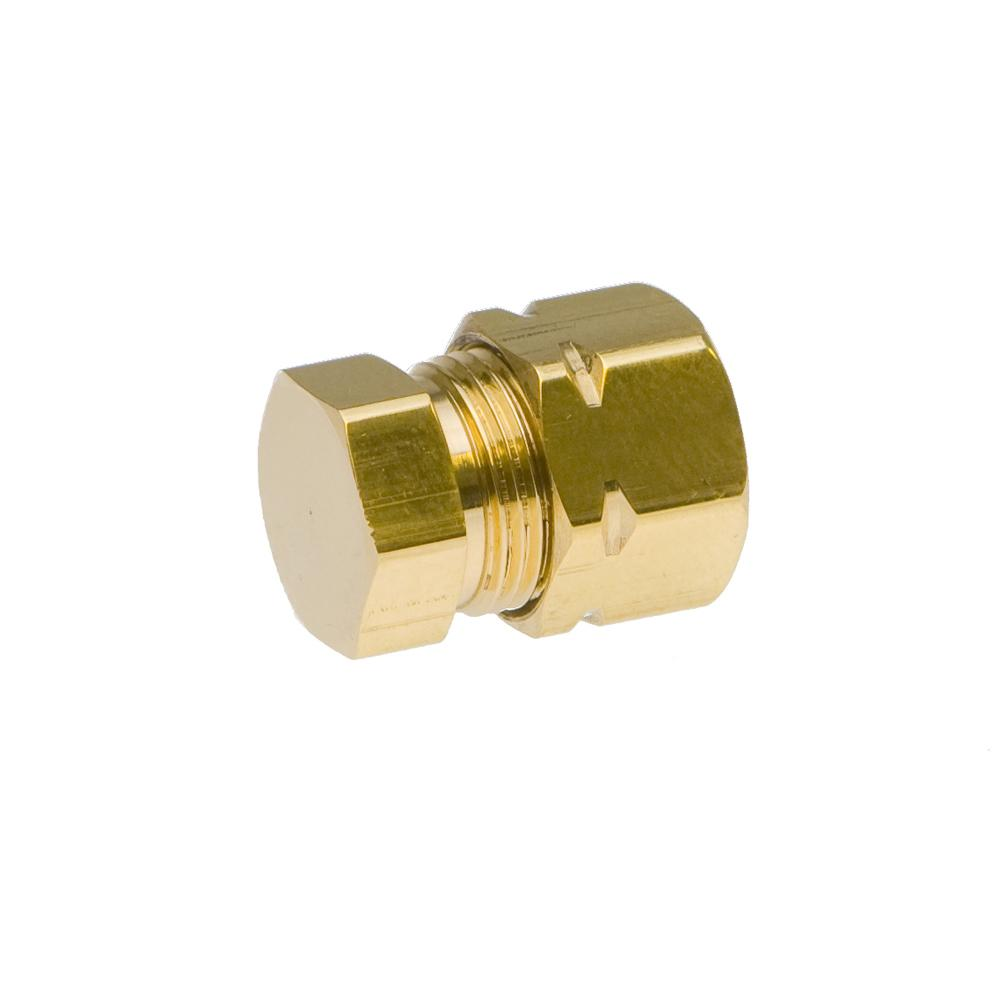 "Medium Duty 3/8"" Brass End Cap"