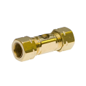 "MEDIUM DUTY BRASS NOZZLE UNION W/O NOZZLE 3/8"" 10/24 Thread"