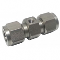 "Stainless Steel Nozzle Union 3/8"" x 10/24"
