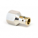 "3/8"" x 1/4"" NPT Push Lock Female Adapter"