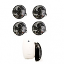 "18"" Fan System w/150 PSI Pump 1 fan to 6 fan kits, Click to see pricing"