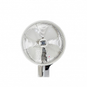 """18"""" Oscillating wall mount misting fan, White"""