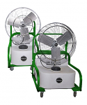 "Air Chiller Oscillating Compact Portable Misting Fan | Fan Sizes 24"" or 30"""