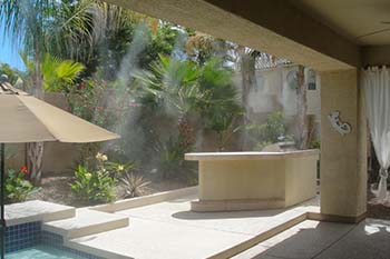 Backyard Patio Mist System