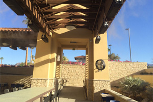 Outdoor Restaurant Misting Systems, Cooling Fans and Patio Misters