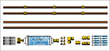Copper Garden Hose Misting Kit